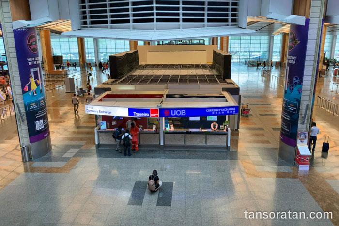 チャンギ空港両替所